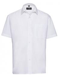 Men`s Sleeve Classic Pure Cotton Poplin Shirt