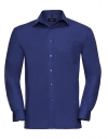 Men`s Sleeve Classic Pure Cotton Poplin Shirt